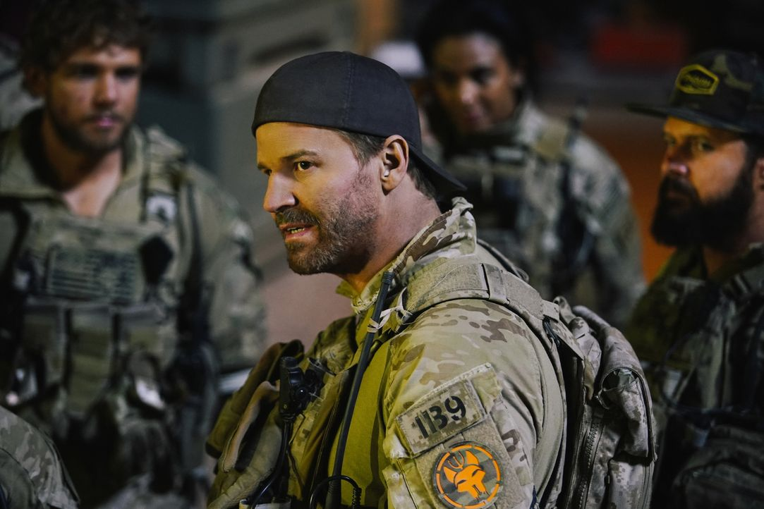 Jason Hayes (David Boreanaz) - Bildquelle: Erik Voake Erik Voake/CBS  2017 CBS Broadcasting, Inc. All Rights Reserved