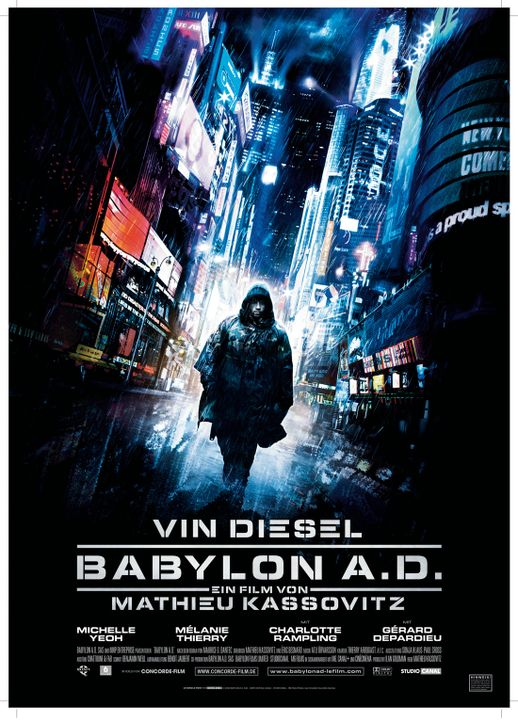 BABYLON A.D. - Plakatmotiv - Bildquelle: 2008 BABYLON A.D SAS / BABYLON FILMS LIMITED / STUDIOCANAL / M6 FILMS