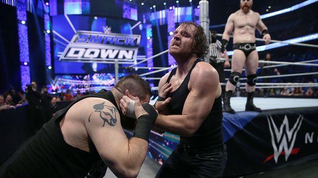 SmackDown vom 1. Januar © WWE