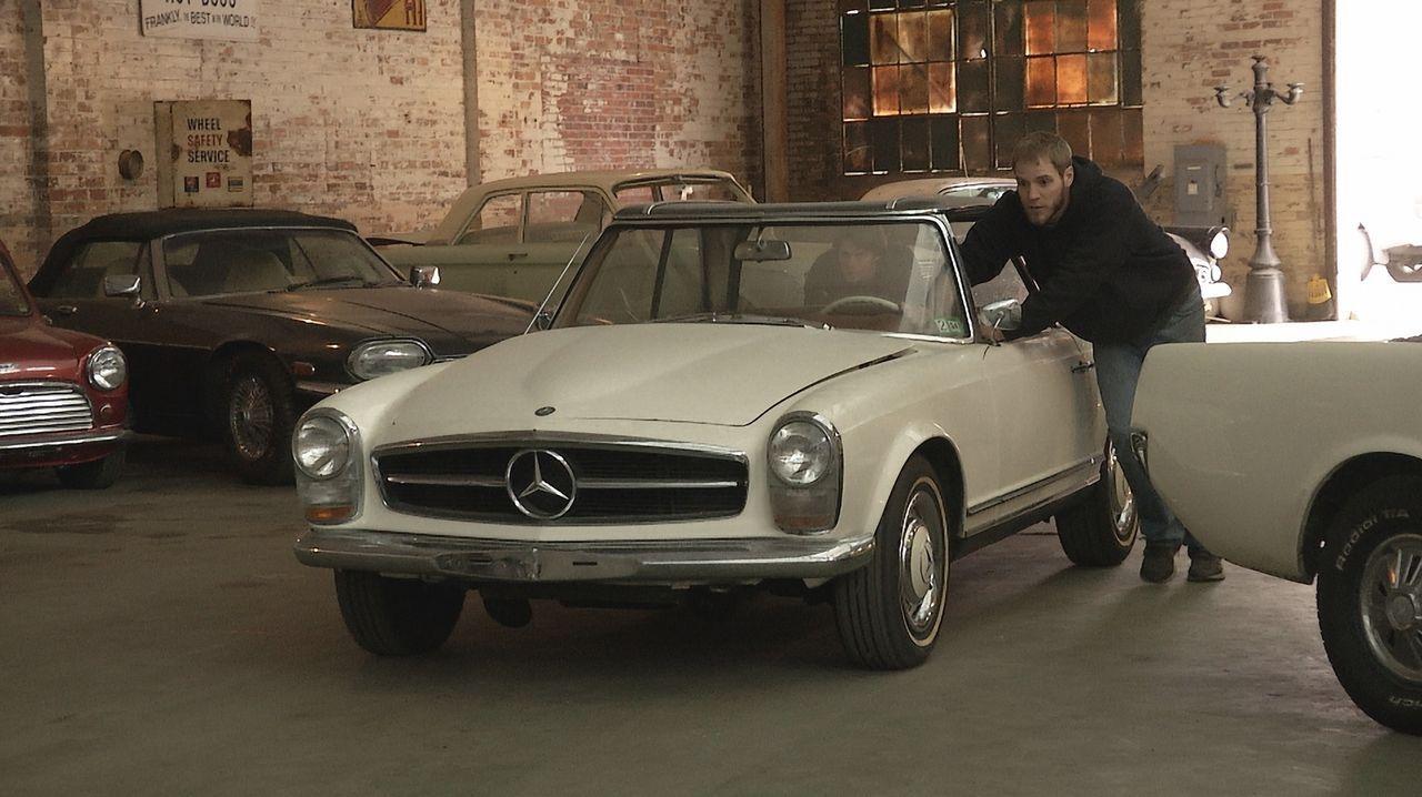 Diese Woche restauriert das Fantomworks-Team einen 1964er Mercedes 230SL. Doch das Budget des Kunden ist klein, und das Team muss sich vielen Heraus... - Bildquelle: New Dominion Pictures LLC.