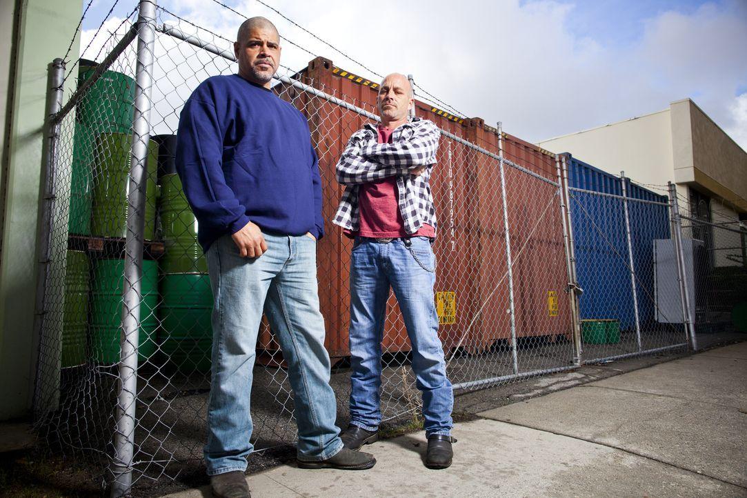 (v.l.n.r.) Vince Jones; Shawn Zimmerman - Bildquelle: Kyle Christy 2012 A&E Television Networks, LLC. All rights reserved./ Kyle Christy