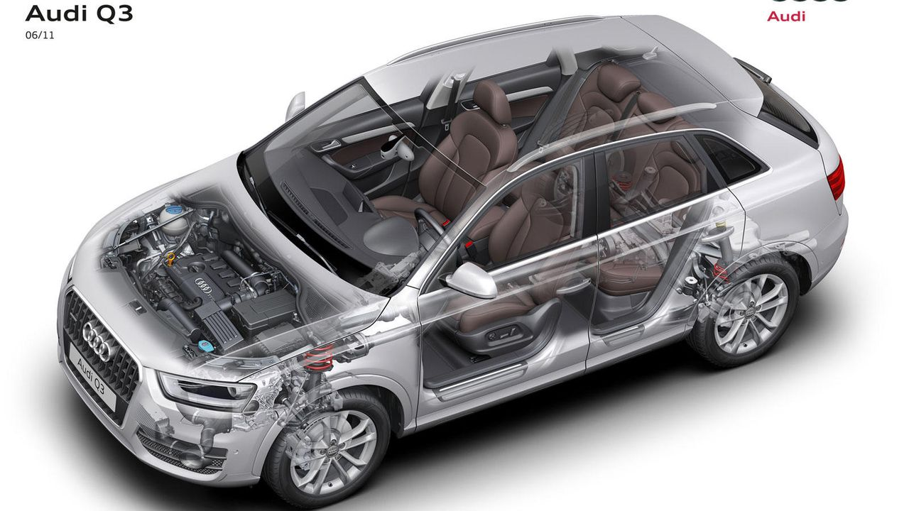 Serienmäßig dabei - Bildquelle: Audi
