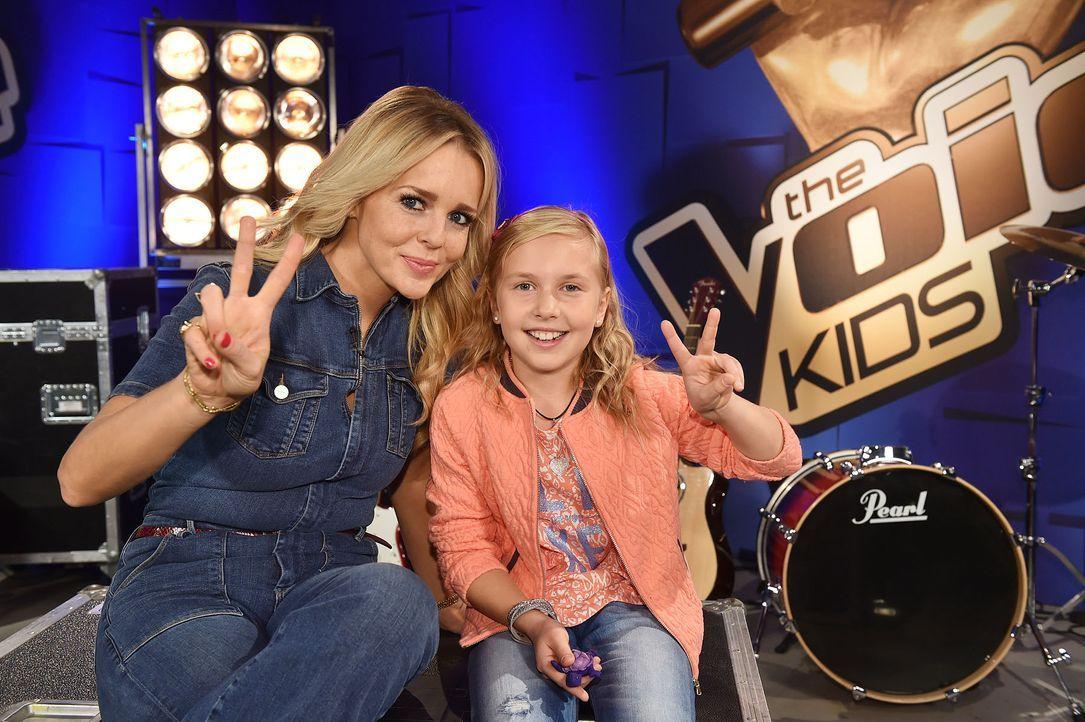 The-Voice-Kids-Emma-05-SAT1-Andre-Kowalski - Bildquelle: SAT.1 / Andre Kowalski