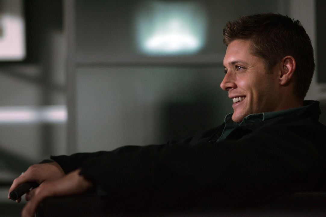 Dean (Jensen Ackles) hat eigentlich nichts zu lachen, denn er wird des Mordes verdächtigt ...