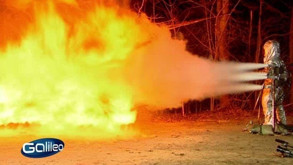 Fake Check - Flammenwerfer