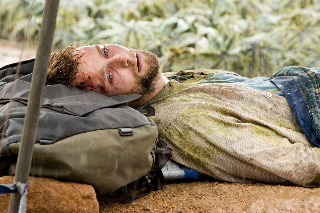 Ahnt zu spät, dass er sich und seine Urlaubsbekanntschaft mitten in einen mörderischen Alptraum geführt hat: Mathias (Joe Anderson) ... - Bildquelle: 2008 DreamWorks LLC. All Rights Reserved.l