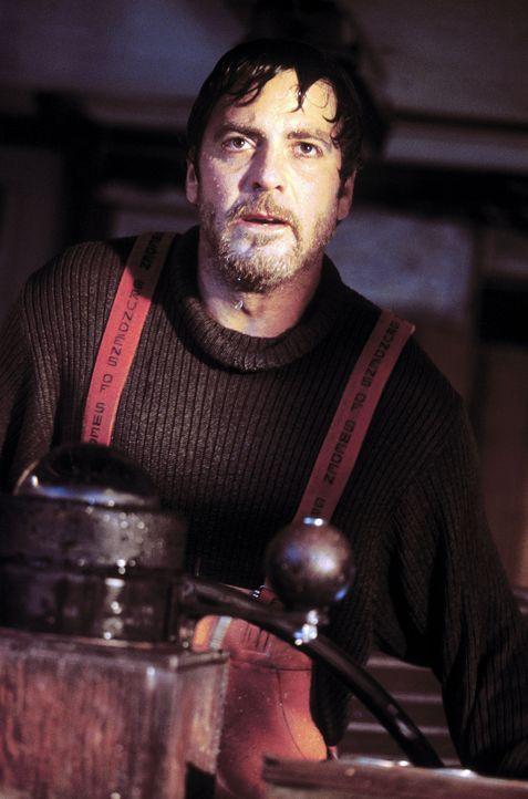 """Trotz Sturmwarnung sticht Kapitän Billy Tyne (George Clooney) mit dem Fischkutter """"Andrea Gail"""" an der amerikanischen Ostküste in See. Kurze Zeit... - Bildquelle: Warner Bros. Pictures"""