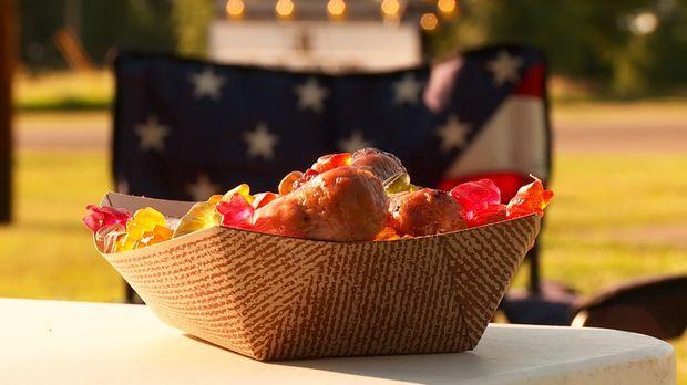 In den USA findet man die bizarrsten Food-Trends. Einer davon: Bratwurst mit...