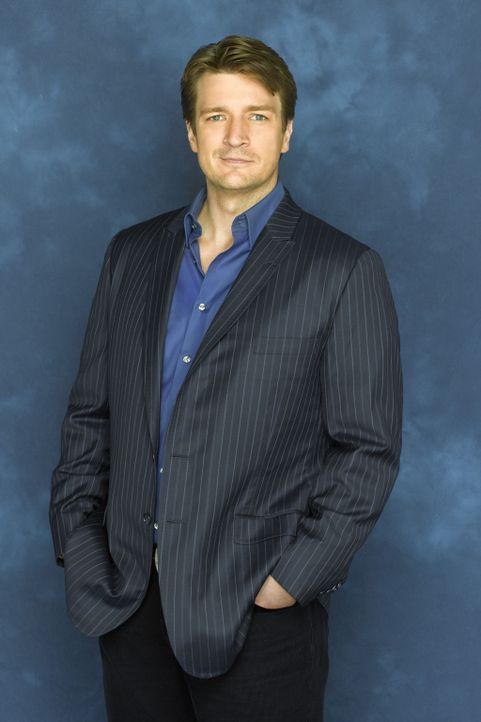 (1. Staffel) - Wenn Richard Castle (Nathan Fillion) sich etwas in den Kopf gesetzt hat, ist es sehr schwer ihn davon abzubringen ... - Bildquelle: ABC Studios
