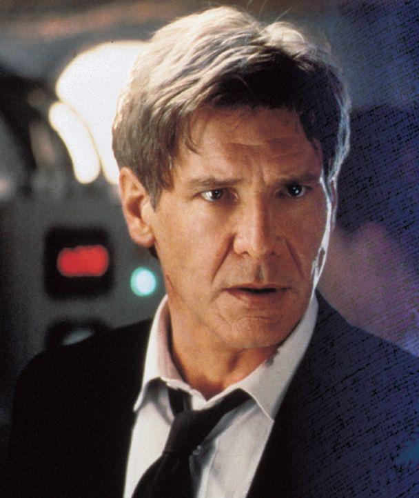 US-Präsident James Marshall (Harrison Ford) hat dem internationalen Terrorismus den Krieg angesagt ... - Bildquelle: Buena Vista International