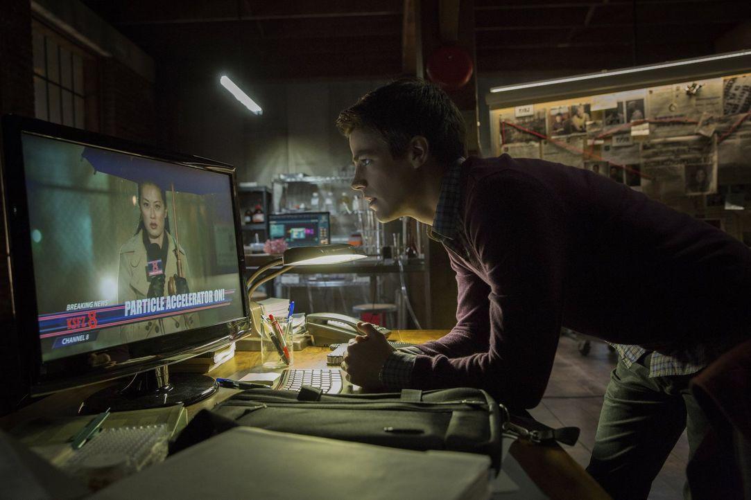Als Barry Allen (Grant Gustin) nach neun Monaten aus dem Koma erwacht und merkt, dass er Superkräfte hat, will er sich für das Wohl der Menschheit e... - Bildquelle: Warner Brothers.