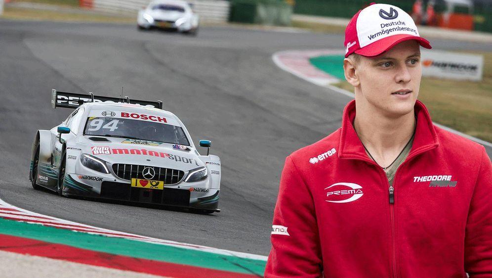 Zieht Mick Schumacher etwa einen Wechsel in die DTM in Betracht? - Bildquelle: Imago
