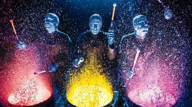 Blue Man Group 2017
