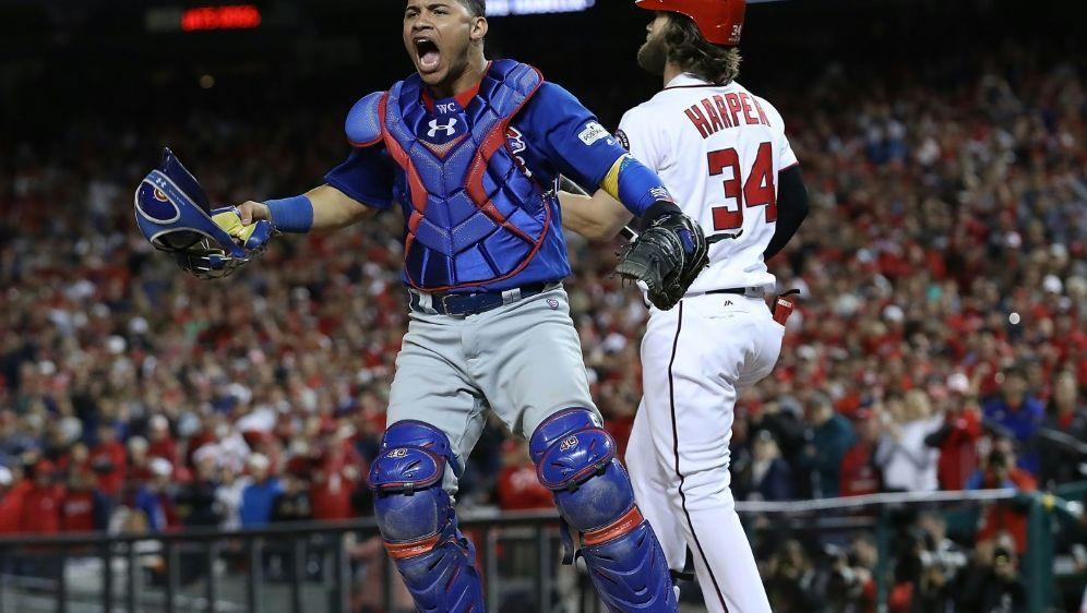Chicago Cubs stehen wieder im Halbfinale - Bildquelle: GETTY AFPSID-WIN MCNAMEE