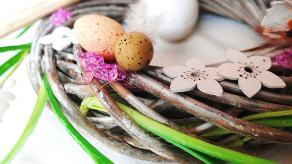 Osterkranz basteln - Bildquelle: Pixabay.com