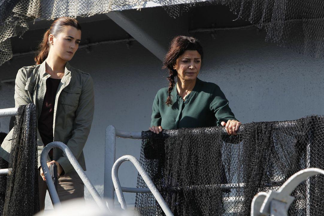 Ein Offizier der Küstenwache wird auf einem führerlosen Schiff erschossen. Die Crew ist von Bord gegangen. Als Gibbs und seine Leute zusammen mit Ag... - Bildquelle: CBS Television