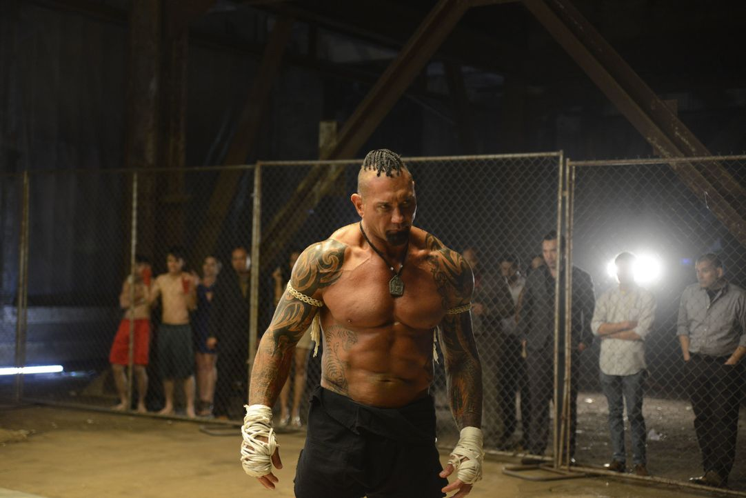 Der skrupellose Thaiboxer Tong Po (Dave Bautista) schreckt vor nichts und niemandem zurück ... - Bildquelle: Elite Entertainment Group