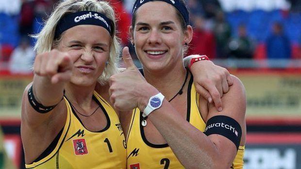 Beachvolleyball-Duo Ludwig/Walkenhorst