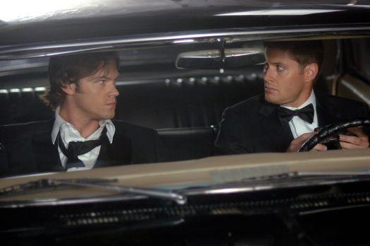 Supernatural - Gehen mysteriösen Todesfällen nach: Sam (Jared Padalecki, l.)...