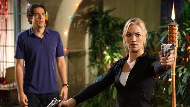 Eine neue Mission wartet auf Chuck (Zachary Levi, l.) und Sarah (Yvonne Strah...