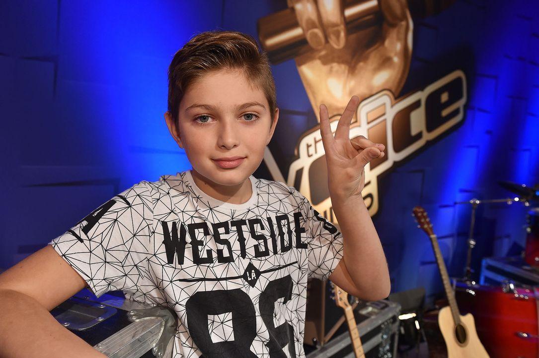 The-Voice-Kids-Stf04-Epi03-Jaimy-02-SAT1-Andre-Kowalski - Bildquelle: SAT.1/ André Kowalski