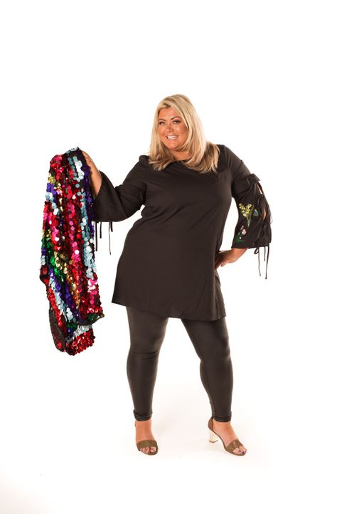 Vorher: Gemma Collins - Bildquelle: Licensed by Fremantle Media Enterprises Ltd.