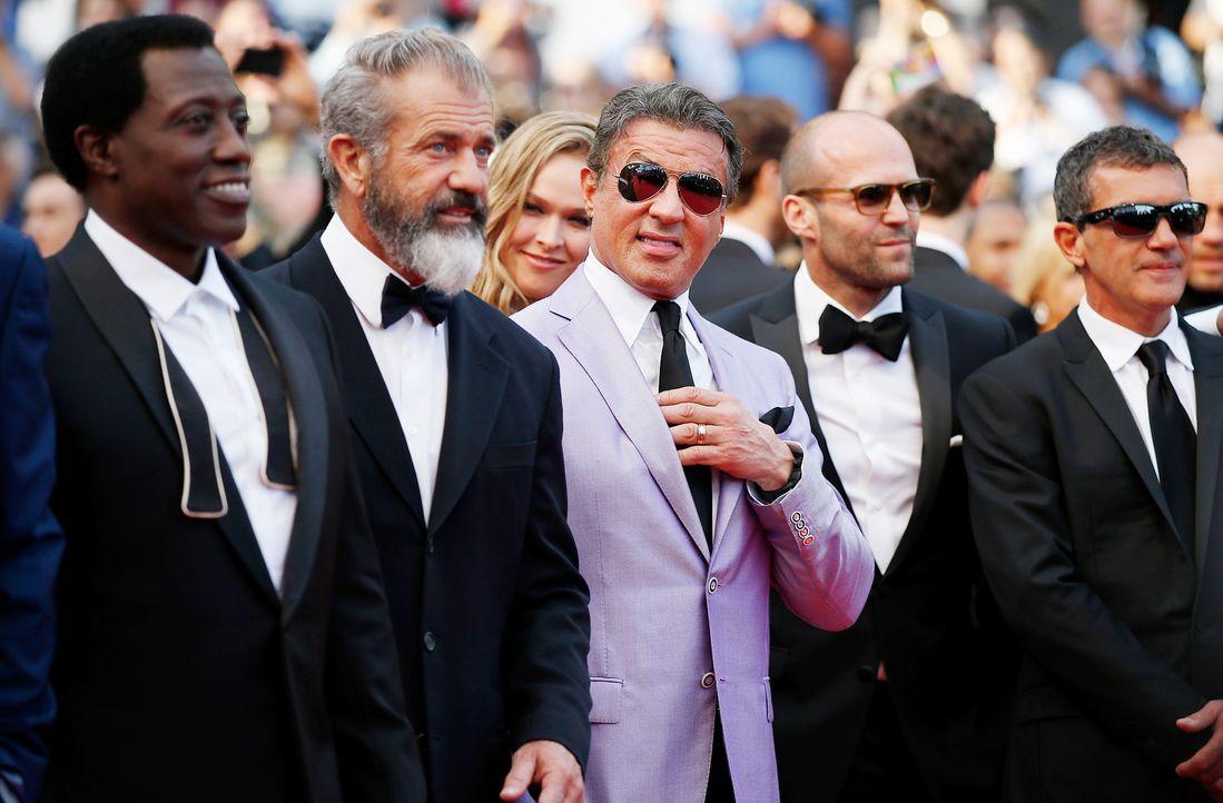 Cannes-Filmfestival-Expendables3-140518-1-AFP - Bildquelle: AFP