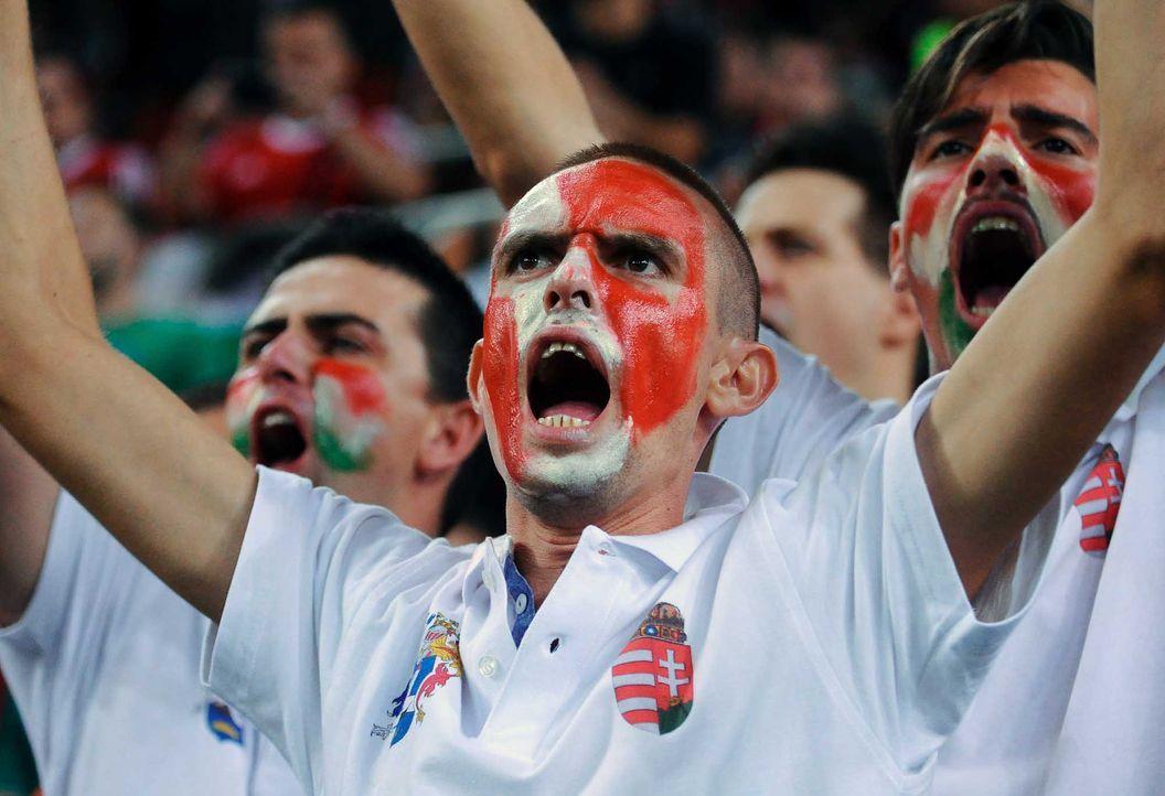 Fußball-Fan-Ungarn-151008-2-AFP - Bildquelle: AFP