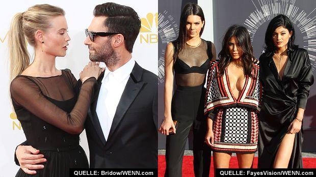 TOP Levine und Prinsloo FLOP Kardashian und Jenner - Bildquelle: Bridow/WENN.com   /   FayesVision/WENN.com