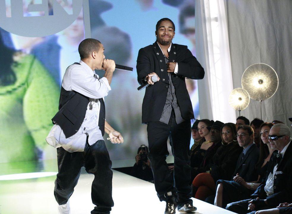 Sorgen für lustige Unterhaltung: die beiden Rapper Bow Wow (l.) und Omarion (r.) - Bildquelle: Buena Vista International Television
