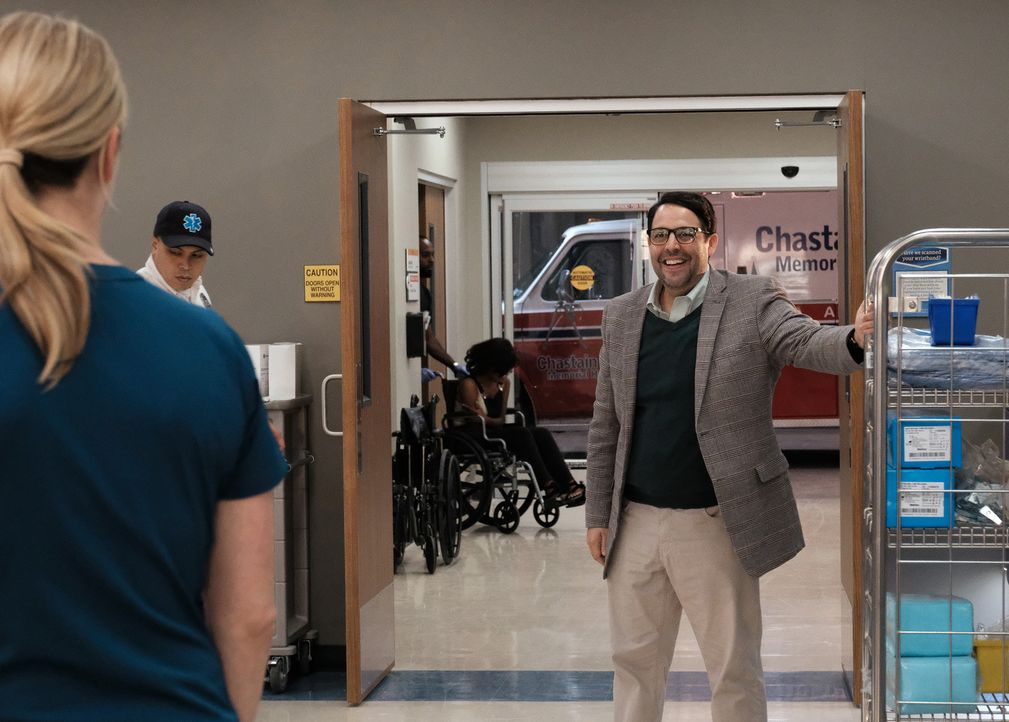 Er ist regelmäßiger Patient im Chastain Park Memorial Hospital: York Evans (Steve Rosen) ... - Bildquelle: 2018 Fox and its related entities.  All rights reserved.