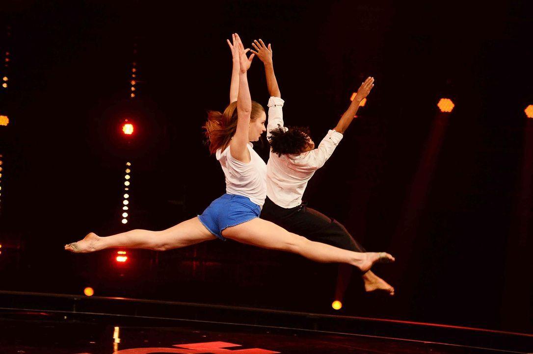 Got-To-Dance-Marie-Sophie-Paulo-Alberto-02-SAT1-ProSieben-Willi-Weber - Bildquelle: SAT.1/ProSieben/Willi Weber