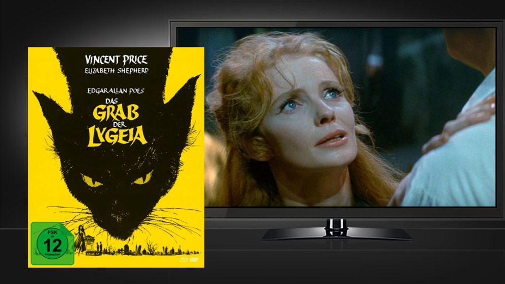 Das Grab der Lygeia (Mediabook mit Blu-ray+DVD)