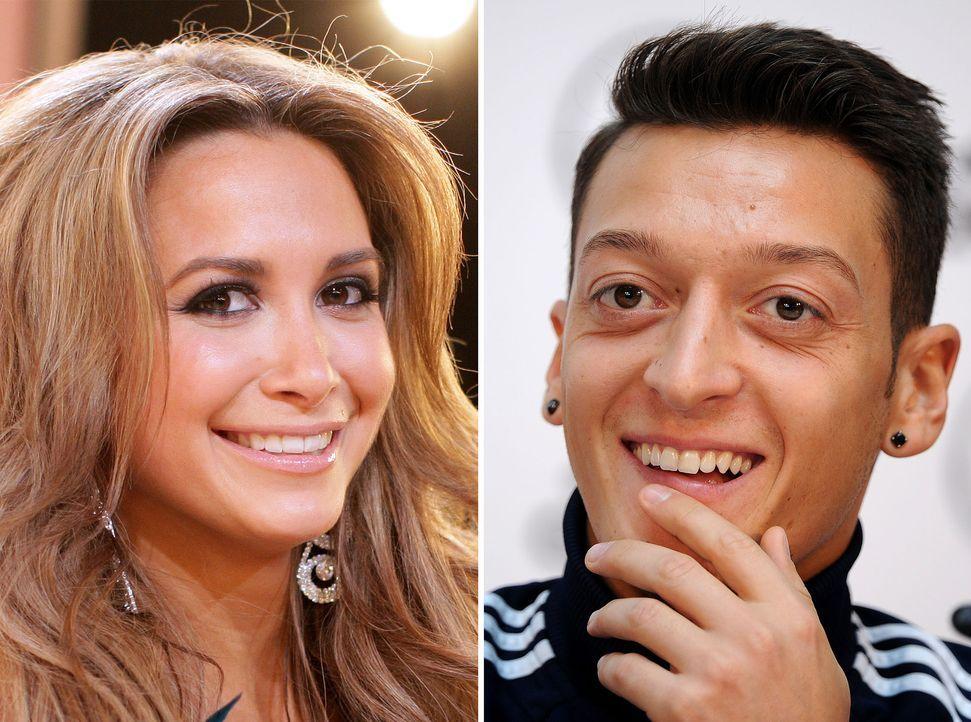 Mandy-Capristo-Mesut Özil-13-11-24-dpa - Bildquelle: dpa