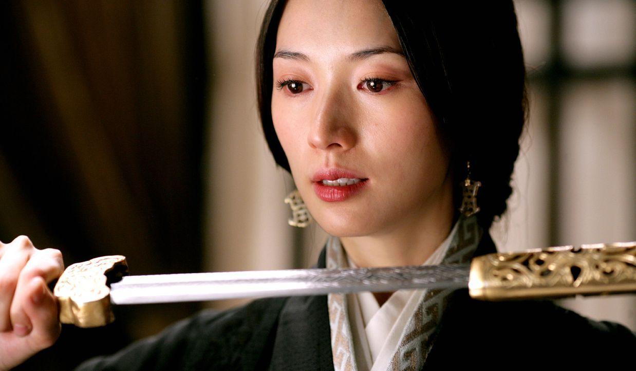 Xiao Qiao (Chiling Lin) kämpft für den Frieden in ihrem Land. Wenn nötig mit Gewalt! - Bildquelle: Constantin Film Verleih GmbH