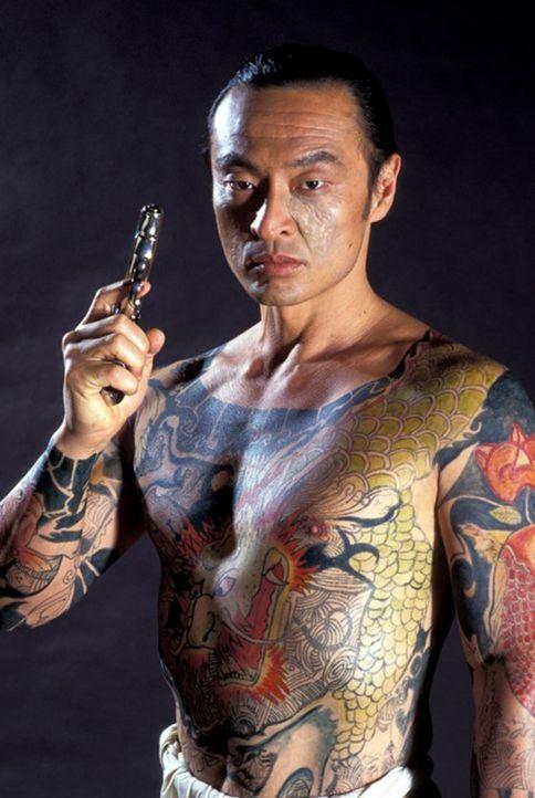 Erst spät wird Chris klar, dass Yakuza-Boss Funekei Yoshida (Cary-Hiroyuki Tagawa) der Mörder seiner Eltern ist ... - Bildquelle: 1991 Warner Brothers