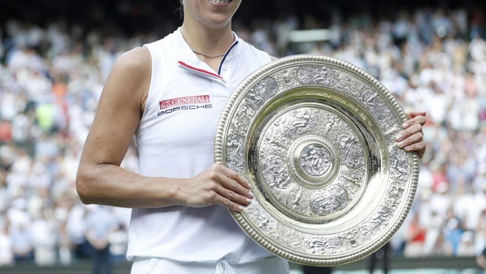 Kerber feiert gegen Williams ihren ersten Wimbledon-Sieg - Bildquelle: POOLPOOLSIDNIC BOTHMA