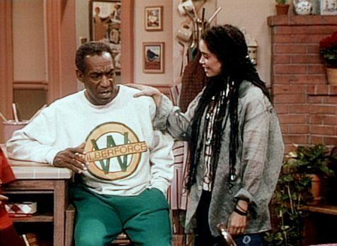 Bill Cosby Show - Cliff (Bill Cosby, l.) hat ein Problem, nachdem er die Neui...