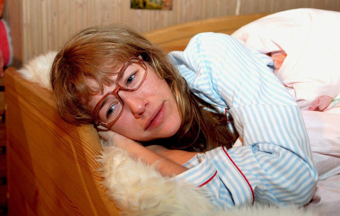 Lisa (Alexandra Neldel) ist unglücklich. Trotz der gelungenen Präsentation, glaubt sie, dass sie nie wirkliche Anerkennung bekommen wird. (Dieses... - Bildquelle: Sat.1