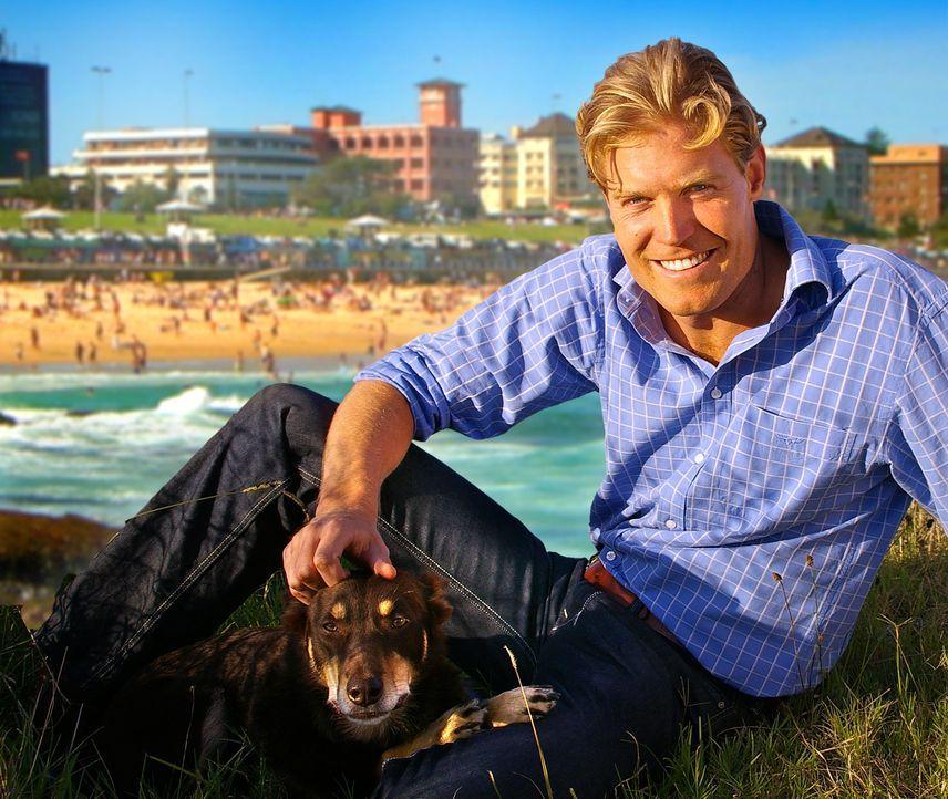 Dr. Chris Brown ist Tierarzt aus Leidenschaft. Sein Hund Rusty ist dabei sein treuer Begleiter ... - Bildquelle: Network Ten, Australia