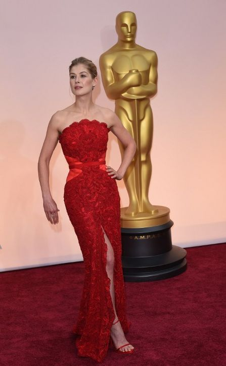 Oscars 2015: Rosamund Pike - Bildquelle: AFP