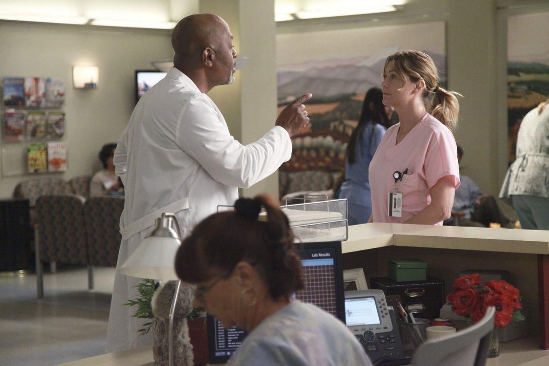 Meredith (Ellen Pompeo, r.) forscht weiter an den Inselzellen herum und findet schließlich des Rätsels Lösung. Ihre Mutter hatte schon damals ein... - Bildquelle: ABC Studios