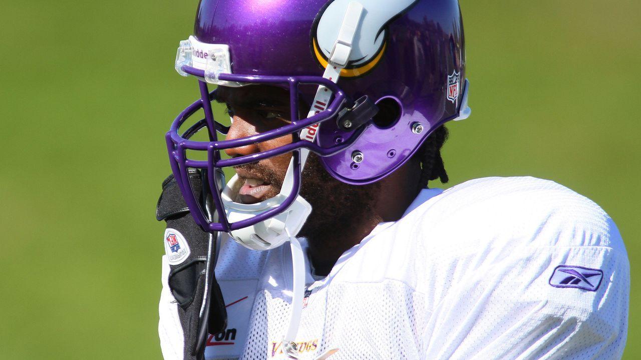 Randy Moss - 2010 von den Patriots zu den Vikings  - Bildquelle: 2010 Getty Images