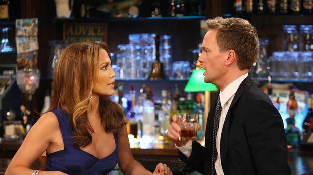 Barney (Neil Patrick Harris, r.) lernt die Wahnsinnsfrau Anita (Jennifer Lope...