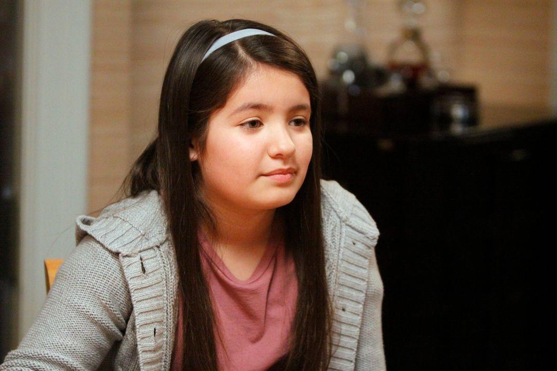 Als plötzlich ihr Bruder auftaucht, gerät Olivia (Isabella Rae Thomas) in ein Gefühlschaos ... - Bildquelle: 2011 American Broadcasting Companies, Inc. All rights reserved.