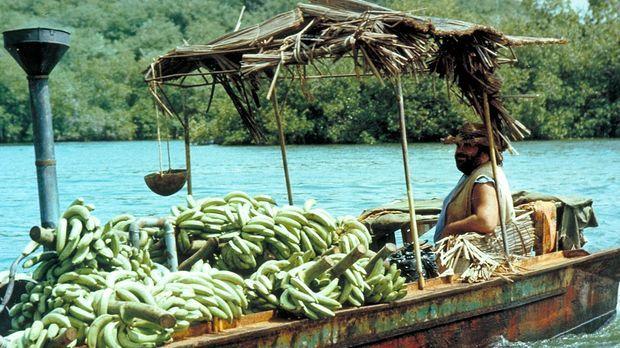Bananenhändler Joe (Bud Spencer) besitzt weder Ausweispapiere noch eine gülti...