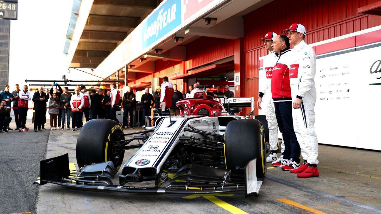 Formel-1-Autos 2019: Alfa Romeo Racing - Bildquelle: Getty