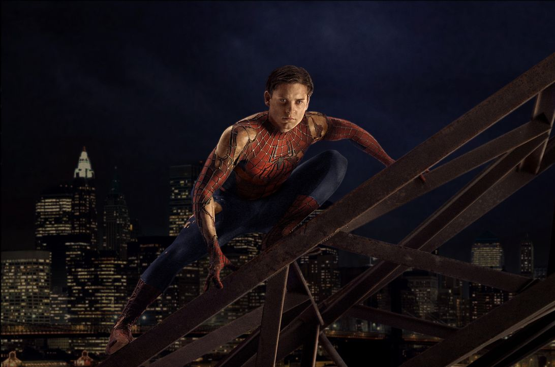 Der College-Student Peter Parker (Tobey Maguire) hat alle Hände voll zu tun, um sein Privatleben mit seiner geheimen Identität als Superheld in Ei... - Bildquelle: Sony Pictures Television International. All Rights Reserved.