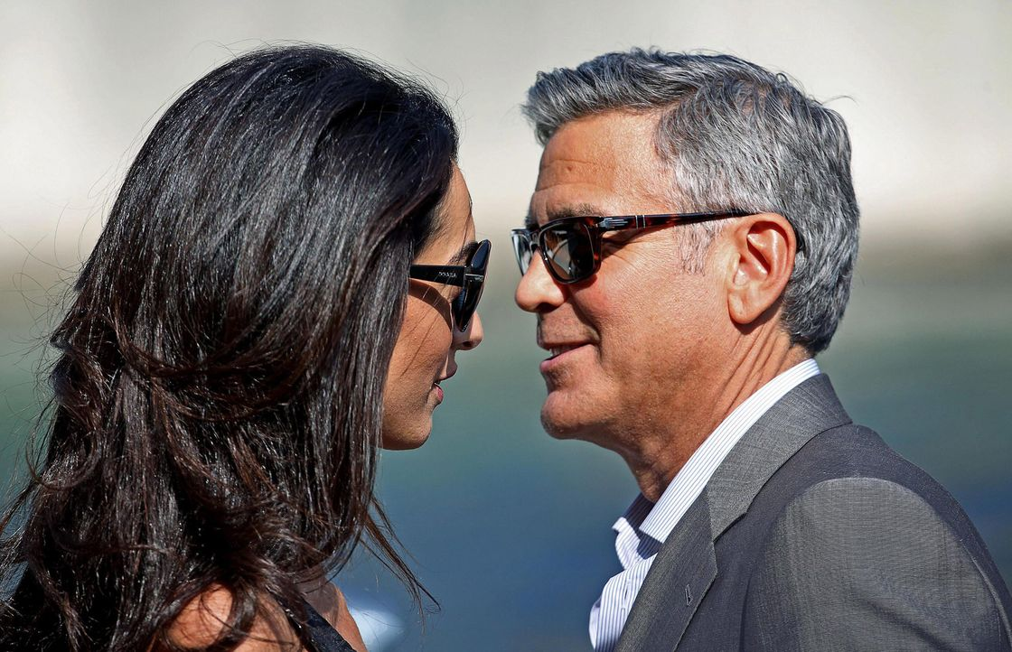 George- Clooney- Amal- Alamuddin-14-09-26-dpa - Bildquelle: dpa