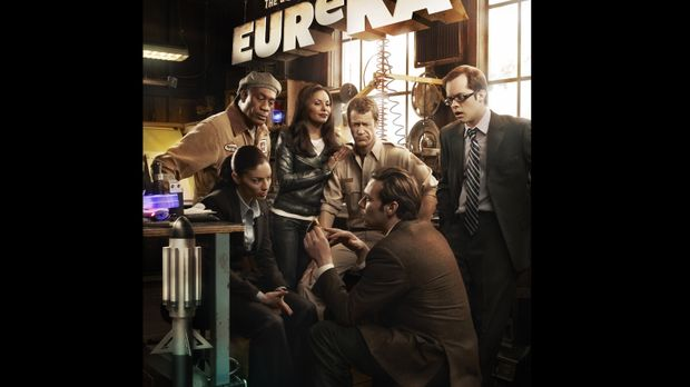 (4. Staffel) - EUREKA: (v.l.n.r.) Henry Deacon (Joe Morton), Jo Lupo (Erica C...
